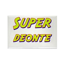 Super deonte Rectangle Magnet