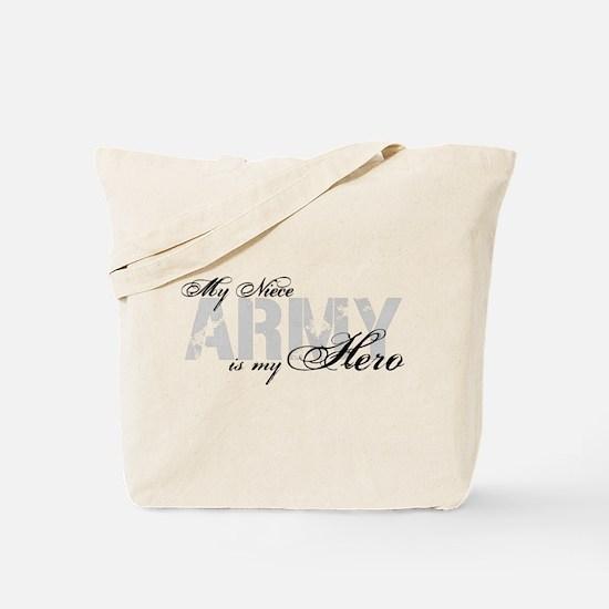 Niece is my Hero ARMY Tote Bag