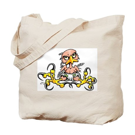 Baby Hawk Tote Bag
