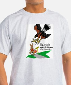 Harris Hawk and Bunny T-Shirt