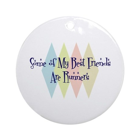 Runners Friends Ornament (Round)