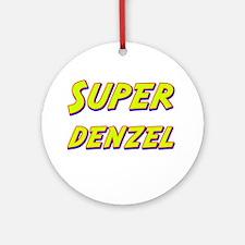 Super denzel Ornament (Round)