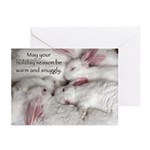 Baby Bunnies Holiday Greeting Cards (Pk Of 10)