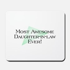 MA Daughter-in-law Mousepad