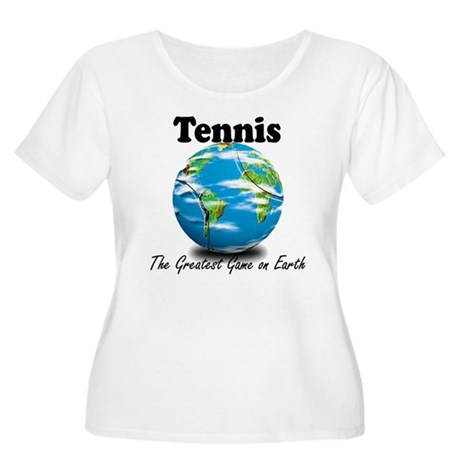 Tennis - Greatest Game on Earth Women's Plus Size