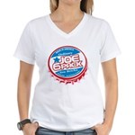 Joe 6 Pack Women's V-Neck T-Shirt