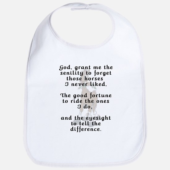 Funny Rider's Prayer Bib