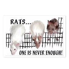 Lotsa Rats! Postcards (Package of 8)