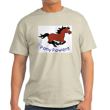 Pony Power Light T-Shirt
