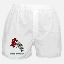 Horse Show Dad Boxer Shorts