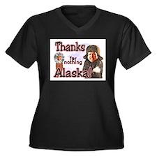 Unique Anti john mccain Women's Plus Size V-Neck Dark T-Shirt