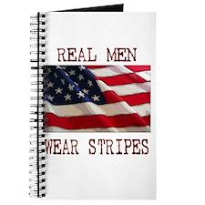 Real Men Wear Stripes Journal