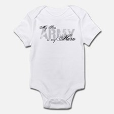 Son is my Hero ARMY Infant Bodysuit