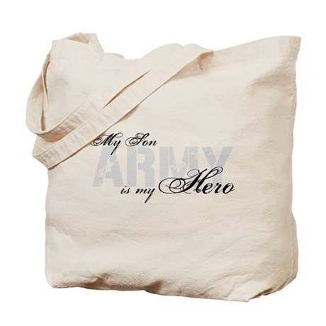 Son is my Hero ARMY Tote Bag