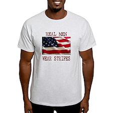 Real Men Wear Stripes T-Shirt