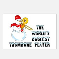 Coolest Trombone Postcards (Package of 8)