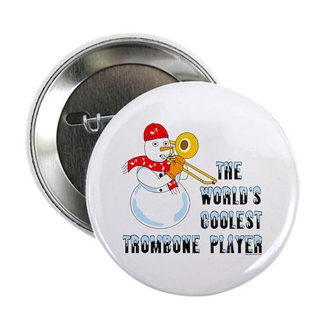 "Coolest Trombone 2.25"" Button (10 pack)"