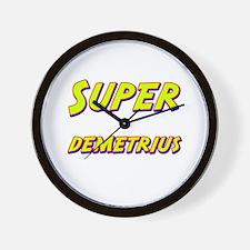 Super demetrius Wall Clock