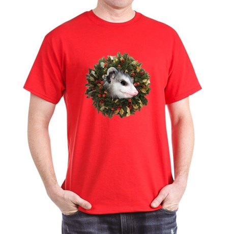 Possum Wreath Dark T-Shirt