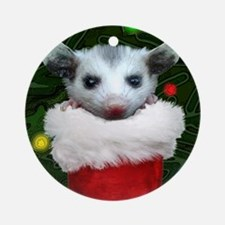 Christmas Critters Ornament (Round)