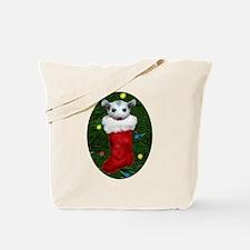 Possum Stocking Tote Bag