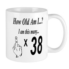 how old am I 38 Mugs