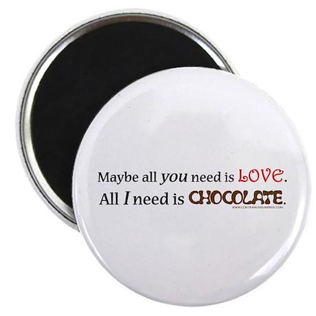 Need Chocolate Magnet