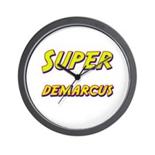 Super demarcus Wall Clock