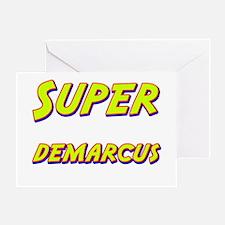 Super demarcus Greeting Card