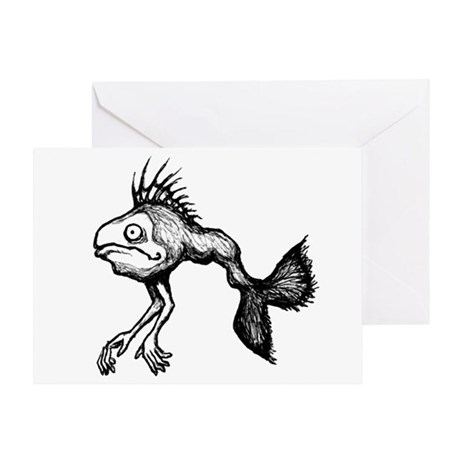 FISHARMS Greeting Card