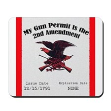 The Second Amendment Mousepad