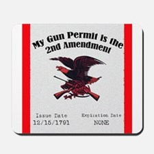 The Second Amendment Mousepad