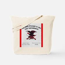 The Second Amendment Tote Bag