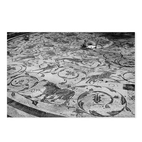 Mosaics at Ostia Antica, IT Postcards (Package of