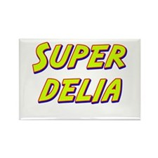 Super delia Rectangle Magnet