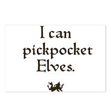 pickpocket elves Postcards (Package of 8)