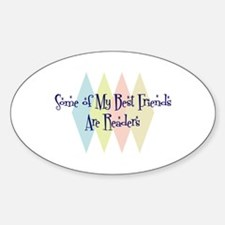 Readers Friends Oval Decal