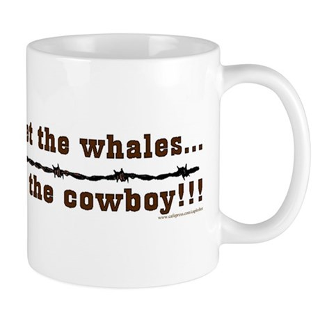 Forget the whales Mug