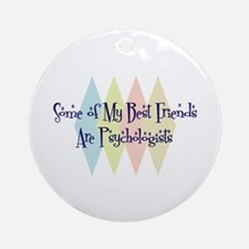 Psychologists Friends Ornament (Round)