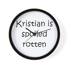 Cool Kristian Wall Clock