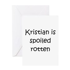 Cool Kristian Greeting Card