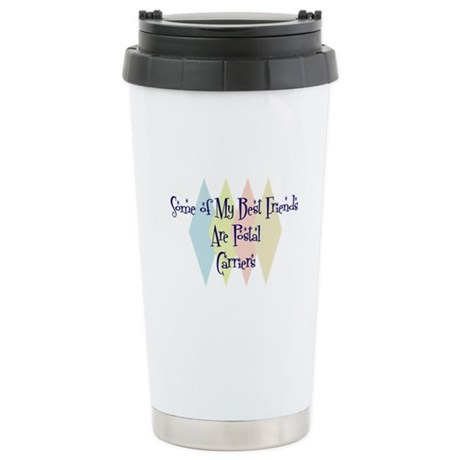 Postal Carriers Friends Stainless Steel Travel Mug