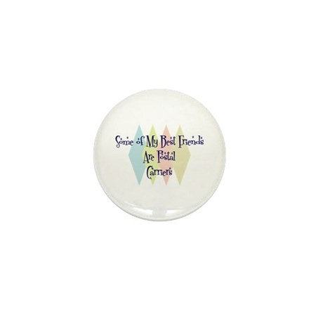 Postal Carriers Friends Mini Button (10 pack)