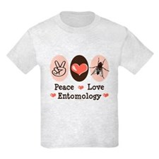 Peace Love Entomology T-Shirt