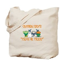 Camden Says Trick or Treat Tote Bag