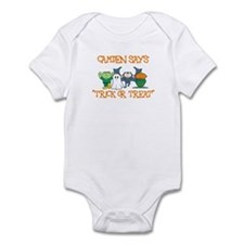 Camden Says Trick or Treat Infant Bodysuit