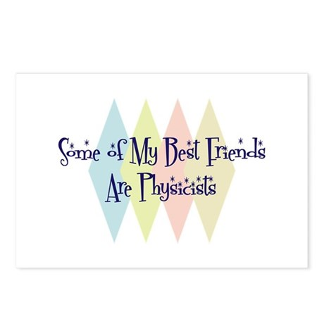 Physicists Friends Postcards (Package of 8)