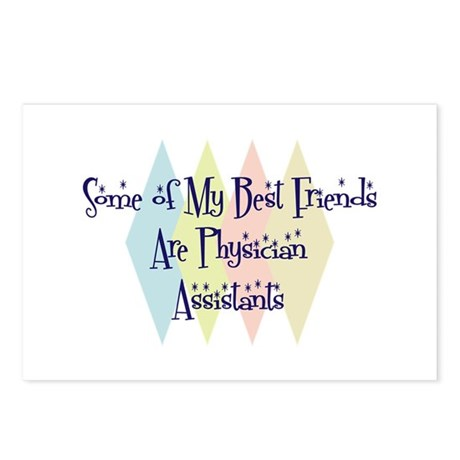 Physician Assistants Friends Postcards (Package of