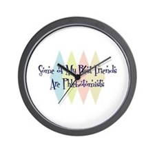 Phlebotomists Friends Wall Clock
