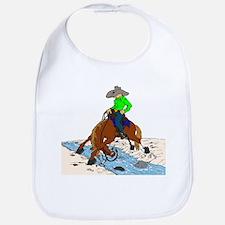 Trail Horse and Creek Bib